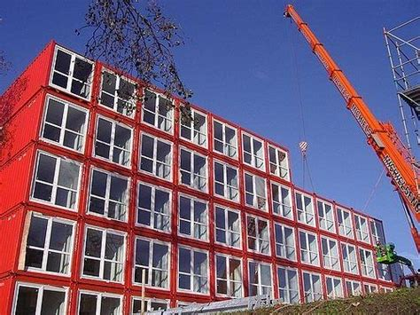 Shipping Container Apartments Keetwonen Amsterdam Student Housing Multi Unit Prefab Sustainable Shipping Container