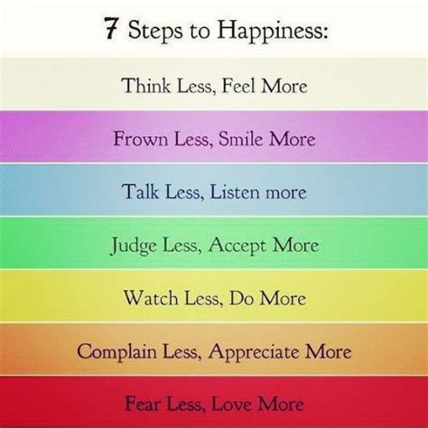 7 Best Promises For Happiness by 7 Steps To Happiness Pictures Photos And Images For