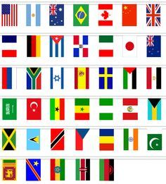 printable flags of the world a4 flags of the world page borders and flags on pinterest