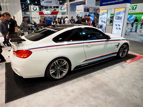 Bmw M4 Performance by Bmw M4 M Performance Parts Photos From Sema 2015
