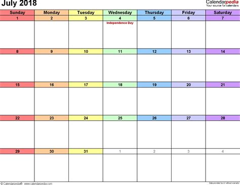 weekly printable calendars 2018 printable weekly calendar july 2018 journalingsage