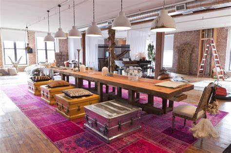 dining rooms in nyc trendhome mitch alfus loft new york
