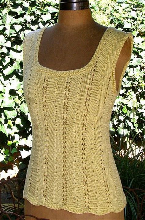 top pattern knit fabric sleeveless tops knitting patterns lace the o jays and