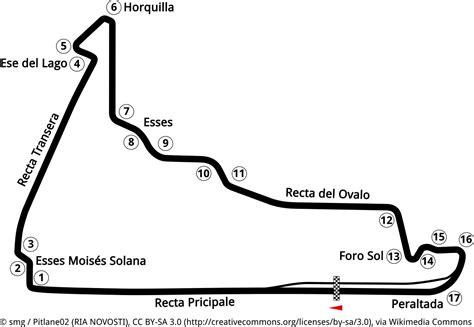 Offizieller Brief Grußformel Strecken Autodromo Hermanos Rodriguez In Mexiko Stadt Gro 223 Er Preis Mexiko Formel 1