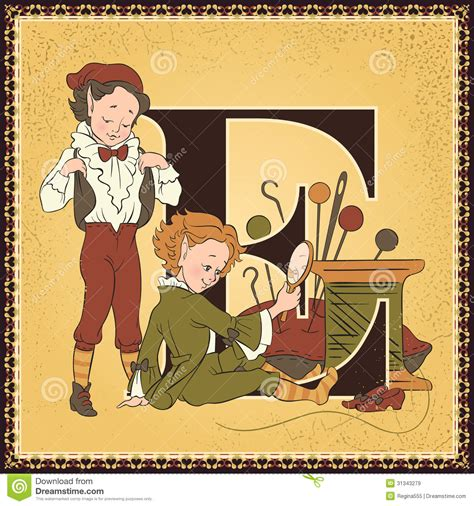 the shoemaker s a novel letter e the elves and the shoemaker royalty free stock