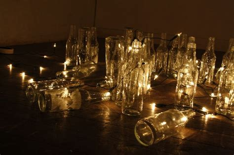 Fairy Lights Tiro Clean Clear Glass Bottles And Fairy Gnome String Lights