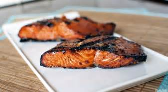 teriyaki flame grilled salmon pass the sushi