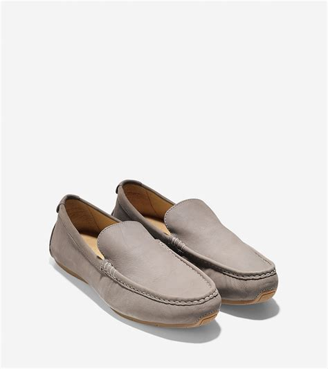 cole haan air somerset loafer cole haan somerset venetian loafer in gray for lyst