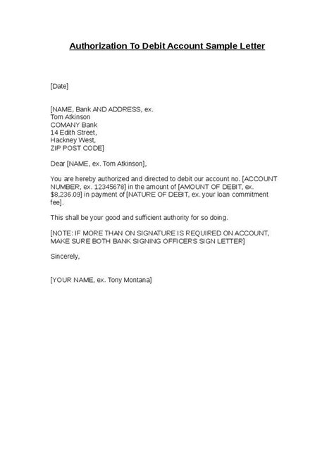 Authorization Letter Using Proof Of Billing Authorization Letter Sle Letters Maps