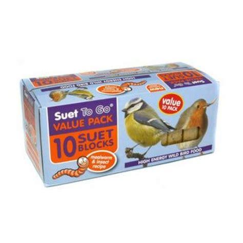 suet to go suet blocks value 10 pack