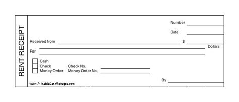 Uk Rent Receipt Template Professional Rent Receipt Template In Word Manager S Club