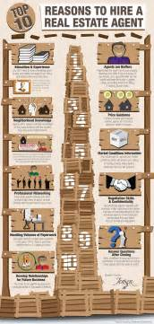 should i become a realtor keeping current matters top 10 reasons to hire a real estate agent infographic