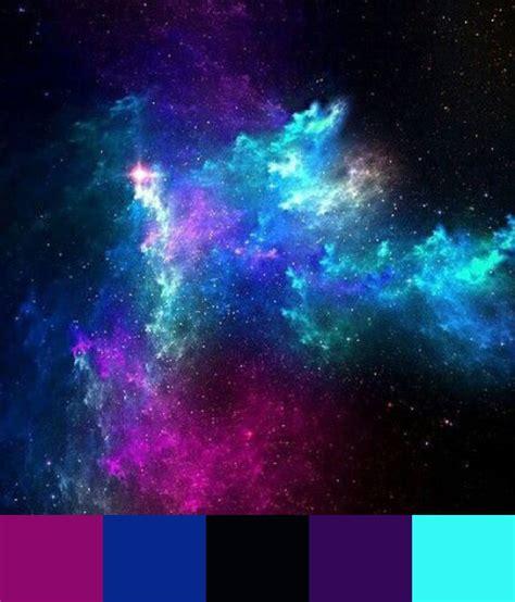 galaxy color palette galaxy color palette hair ideas color