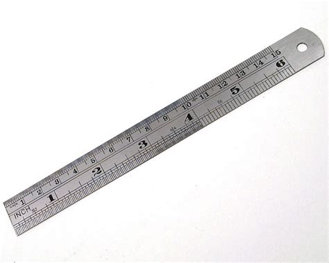 woodworking ruler 6 inch precision ruler peck tool