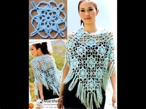 crochet pattern lacy jumper how to crochet lace blue poncho jumper tunic pattern