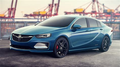 opel commodore 2018 2018 holden commodore ss vxr unveiled in buick form