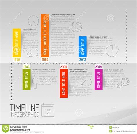timeline report template horizontal infographic timeline report template with