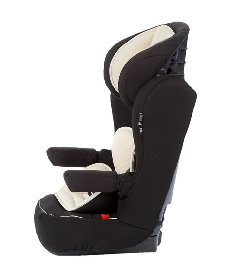 reclining high back booster mothercare advance xp highback booster car seat black cream