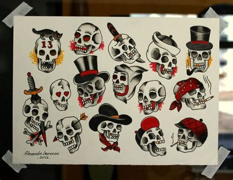 traditional skull tattoo designs traditional skull flashblood sweat ink bjuailn
