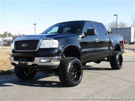 Ford F150 Crew Cab by 2005 Ford F 150 Lariat Fx4 Lifted 4x4 Crew Cab Bed
