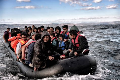 refugee crisis europe boat criminals earned 6 6 billion smuggling refugees into