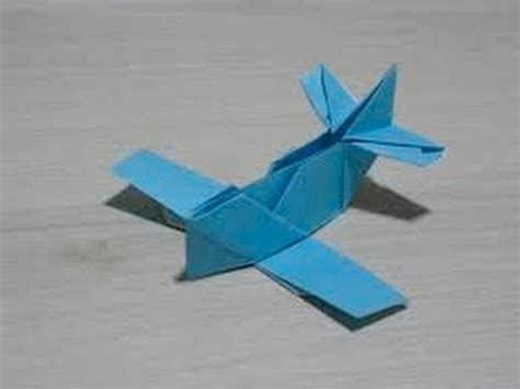 Origami Airplane - origami ww1 plane easy