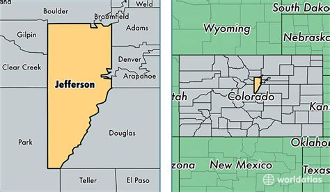 zip code map jefferson county colorado map jefferson county colorado my blog