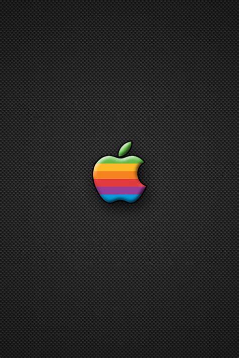 wallpaper apple rainbow rainbow apple iphone wallpaper hd