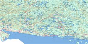 Blind In Spanish Blind River Topo Map Free Online Nts 041j On