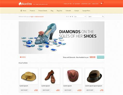 40 Best E Commerce Website Templates Web Graphic Design Bashooka E Commerce About Us Template
