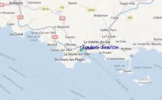 Toulon France Map by Toulon France Tide Station Location Guide
