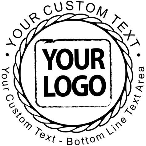 custom rubber st logo customized business logo rubber st simply sts