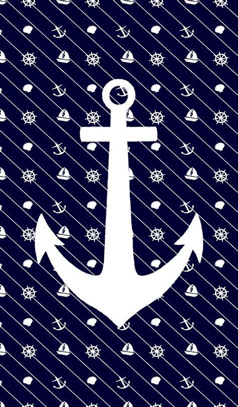 anchor wallpaper pinterest white anchor on navy wallpapers pinterest