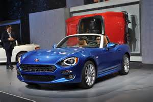 Fiat Spider Specs 2017 Fiat 124 Spider Review Ratings Specs Prices And