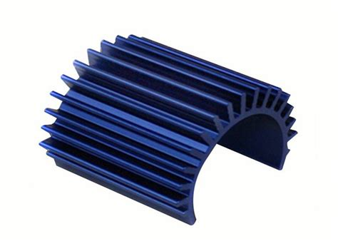 Round Aluminum Extrusion Heat Sink T3 T8 Temper Shape Angle