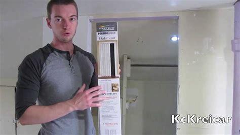 how to install a folding closet door how to install a folding accordion closet door