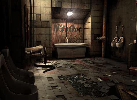 saw bathroom scene 3d tutorials saw bathroom 3d