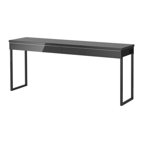High Gloss Black Desk by Frames Best 197 System