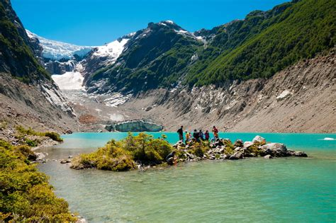 cursos en esquel 2016 glaciar torrecillas en chubut tesoro del parque nacional