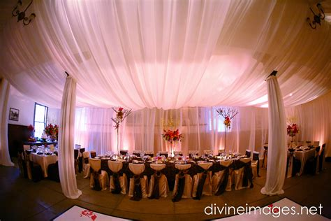 wedding reception draping elegant wedding reception decor draping onewed com