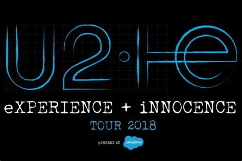 u2 fan presale u2 reveal 2018 experience innocence tour dates ticket
