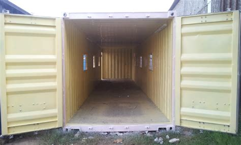 40ft used Container Fabrication   40ft used Container