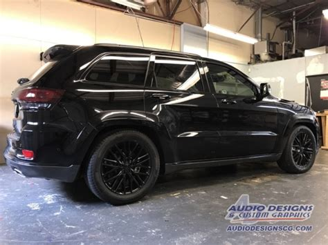 2017 Jeep Grand Cherokee Restyle Project Window Tint