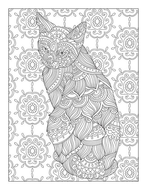 catological coloring book for cat 50 unique page designs for hours of cat coloring books catological coloring book for cat 50 unique