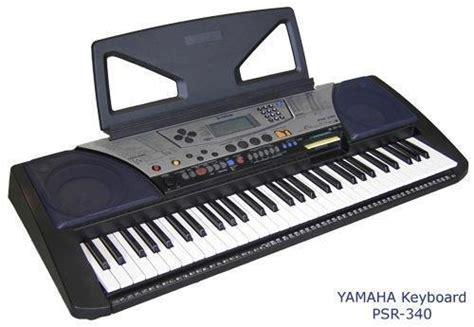 Second Keyboard Yamaha Psr 340 vintage yamaha psr 340 electronic piano midi keyboard