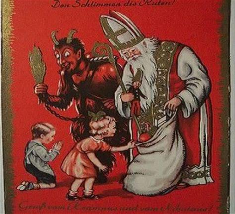 Sinterklas Belt Santa Claus Card Kartu Pos Postcard Natal dinast 237 a tang