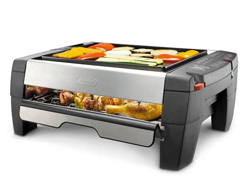 delonghi grill delonghi indoor grill and smokeless broiler focus