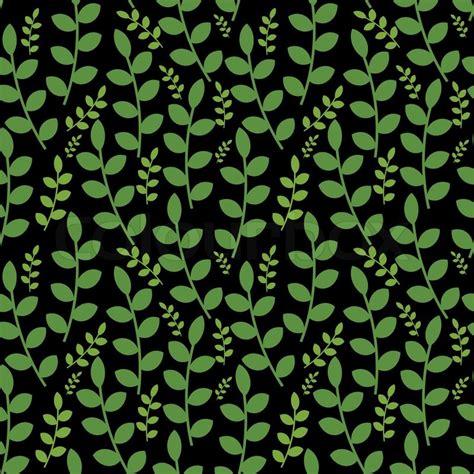 ornamental seamless pattern vector seamless ornamental foliage pattern stock vector colourbox