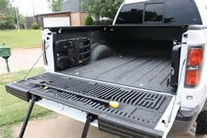 spray in bedliner with tailgate step ford raptor