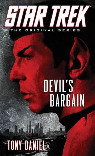 libro the devils star star trek the original series devil s bargain by tony daniel paperback barnes noble 174